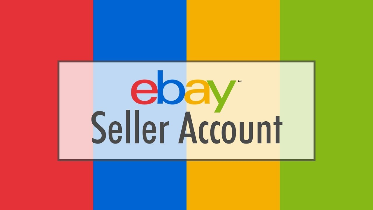 Ebay Seller Account + Activate Listing 25.000/500.000