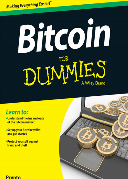Bitcoin For Dummies Original Edition New release