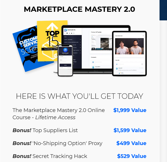 Marketplace Mastery 2.0 by Tom Cormier
