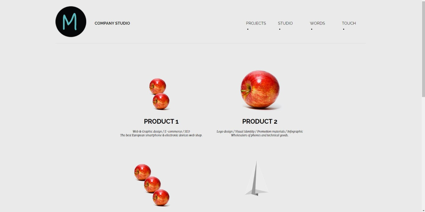Responsive web page / site