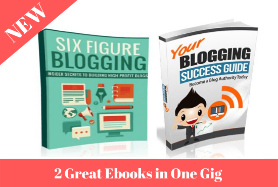 Earn up to 200$ a day with this 2 blog marketing ebooks