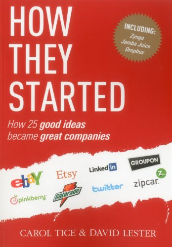 How They Started: How 25 Good Ideas Became Great