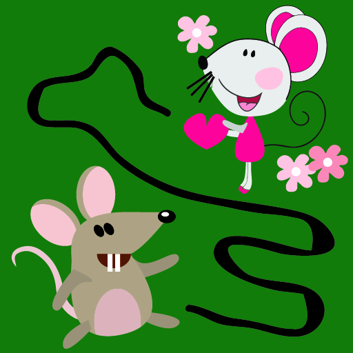 Android game 'Mouse Labyrinth: Find Love'