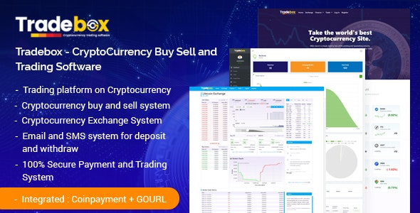 Tradebox - CryptoCurrency Buy Sell and Trading Software