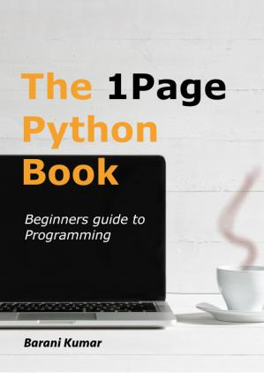 The 1 Page Python Book