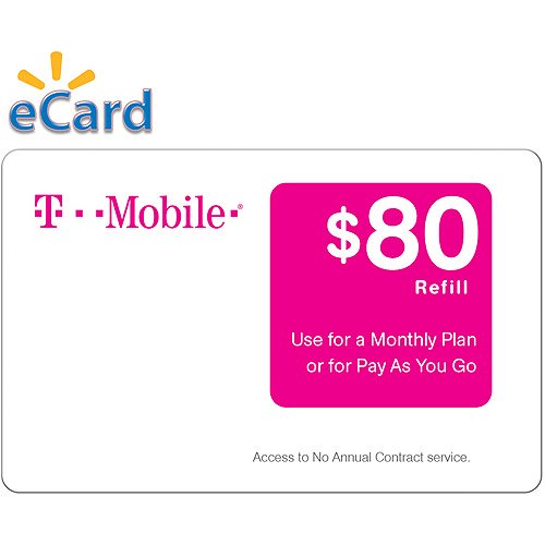 T-Mobile $80 4G LTE (Email Delivery)  Report incorrect