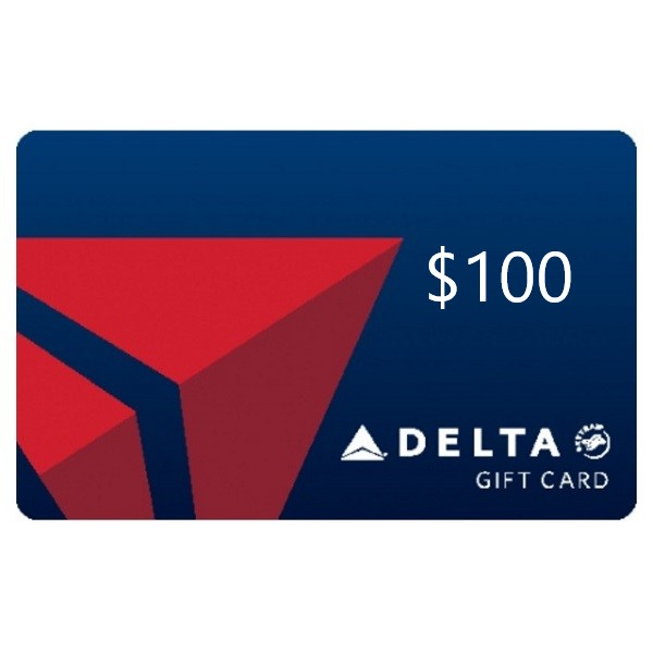 Delta Airlines Gift Card $100