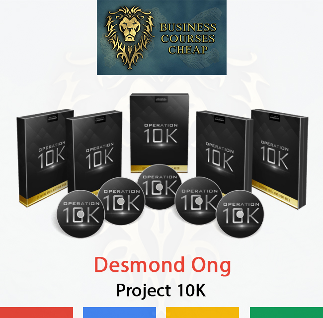 Desmond Ong - Project 10K - Mastery Business Courses