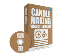 Candle Making Video Site Builder