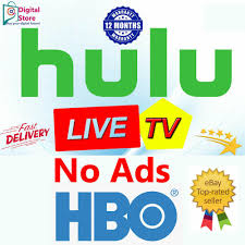 HULU + NO COMMERCIAL + LIVE TV + HBO