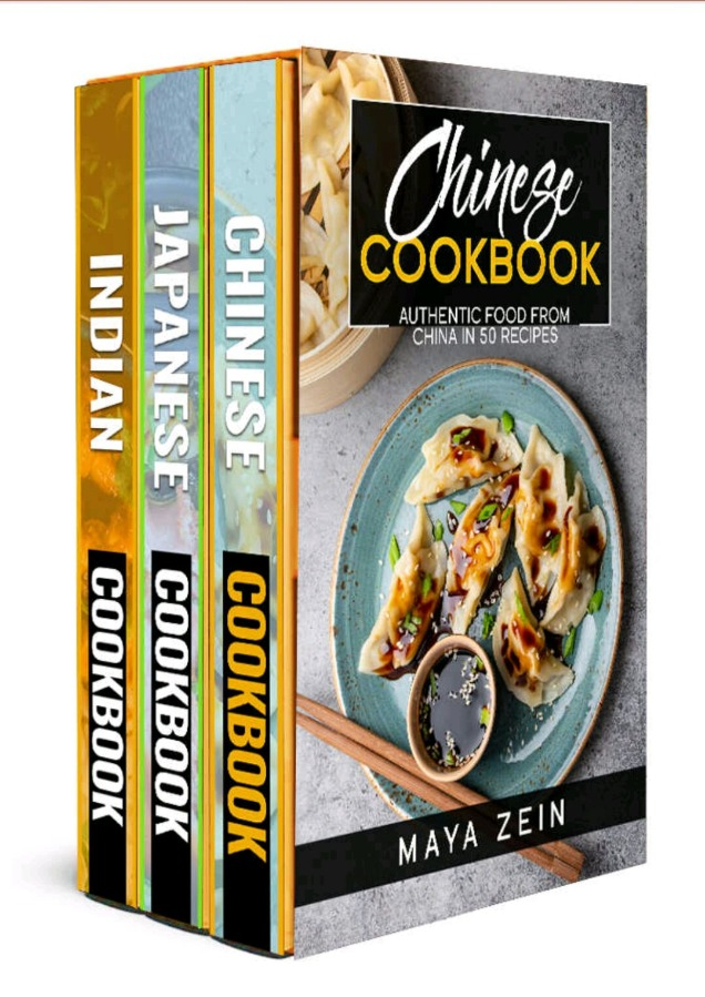 Traditional Asian Cookbook: 3 Books In 1