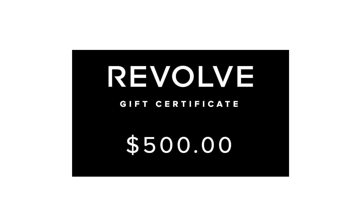 $500 Revolve Gift Card Email Delivery (Code)