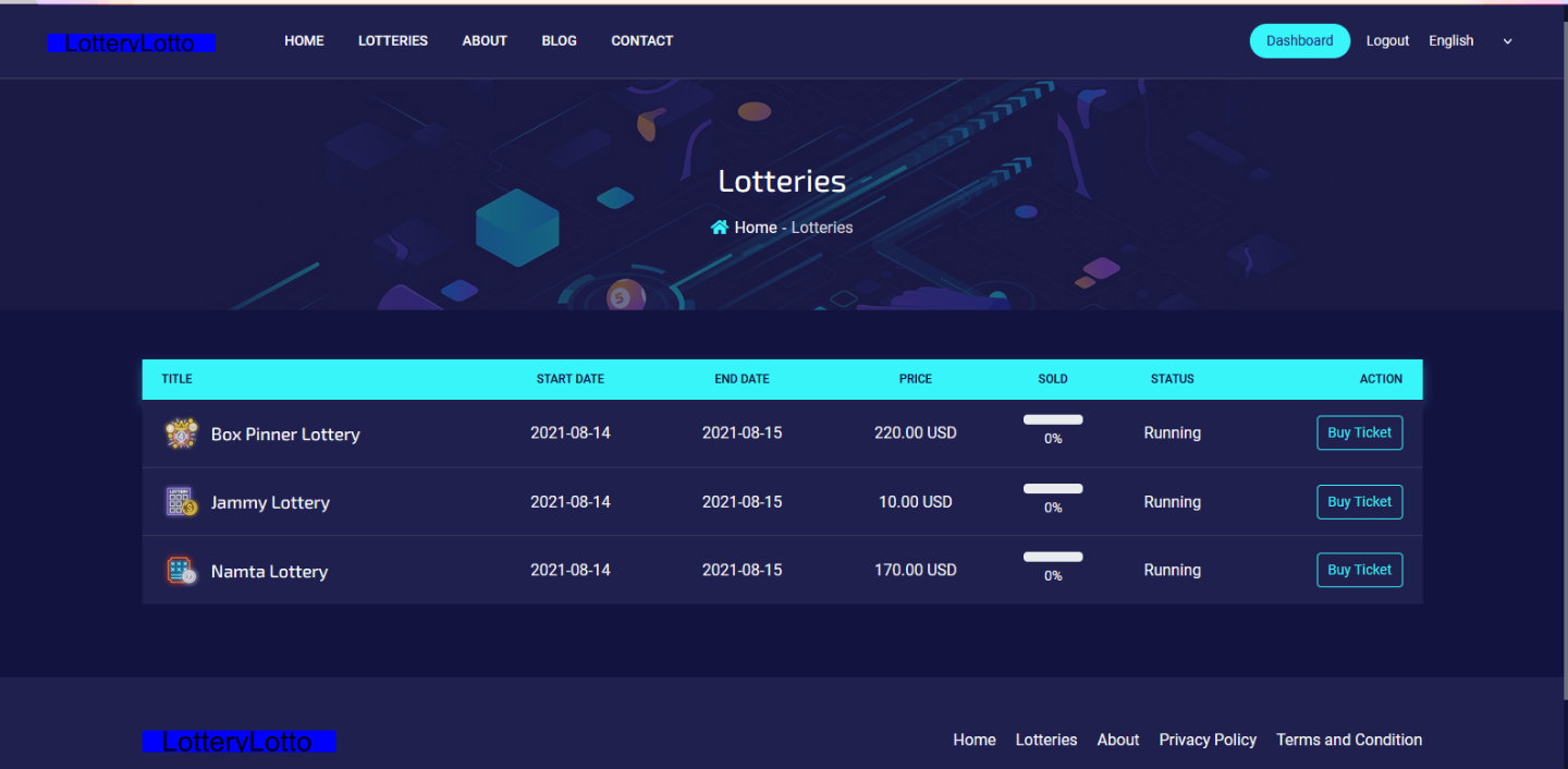 Start YOur own Online Lottery website with AutoDraw
