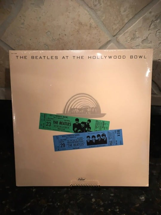 """The Beatles """"At The Hollywood Bowl"""" Sealed..."""