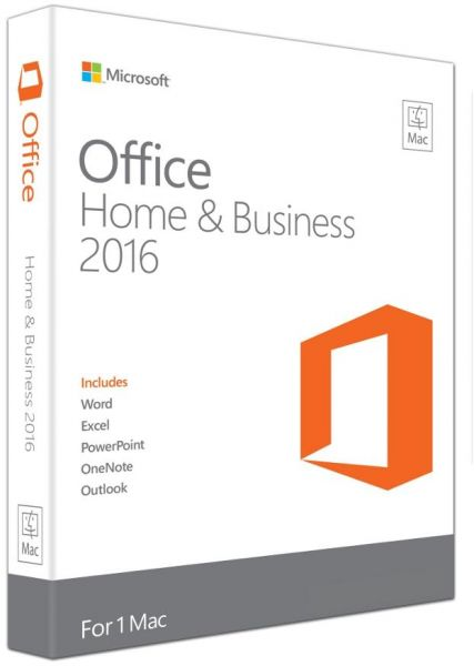 Office 2016 - Office 2016 Home and Business for Mac