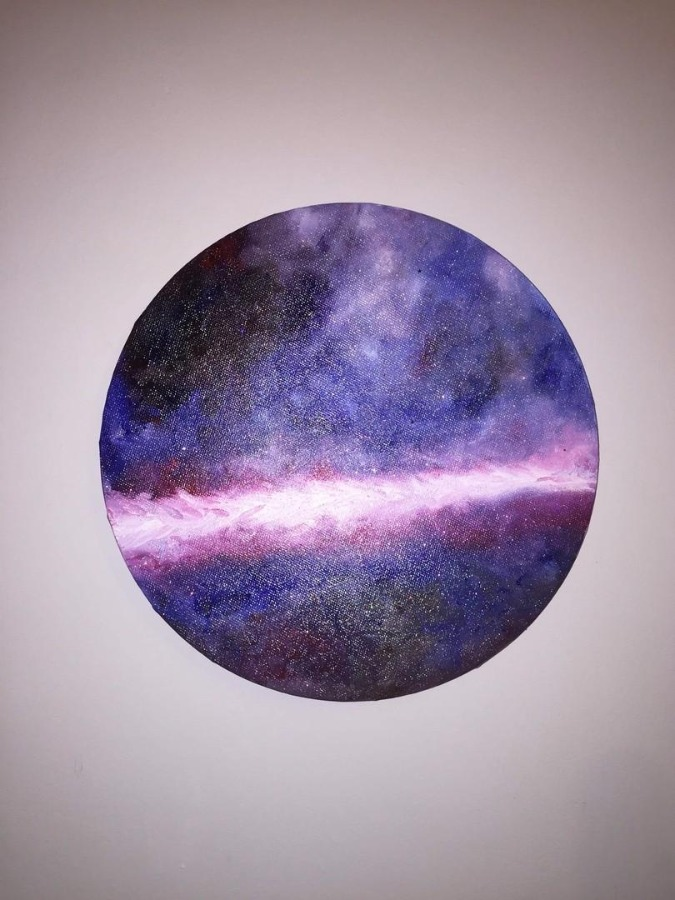 Oil painting -Milky Way-