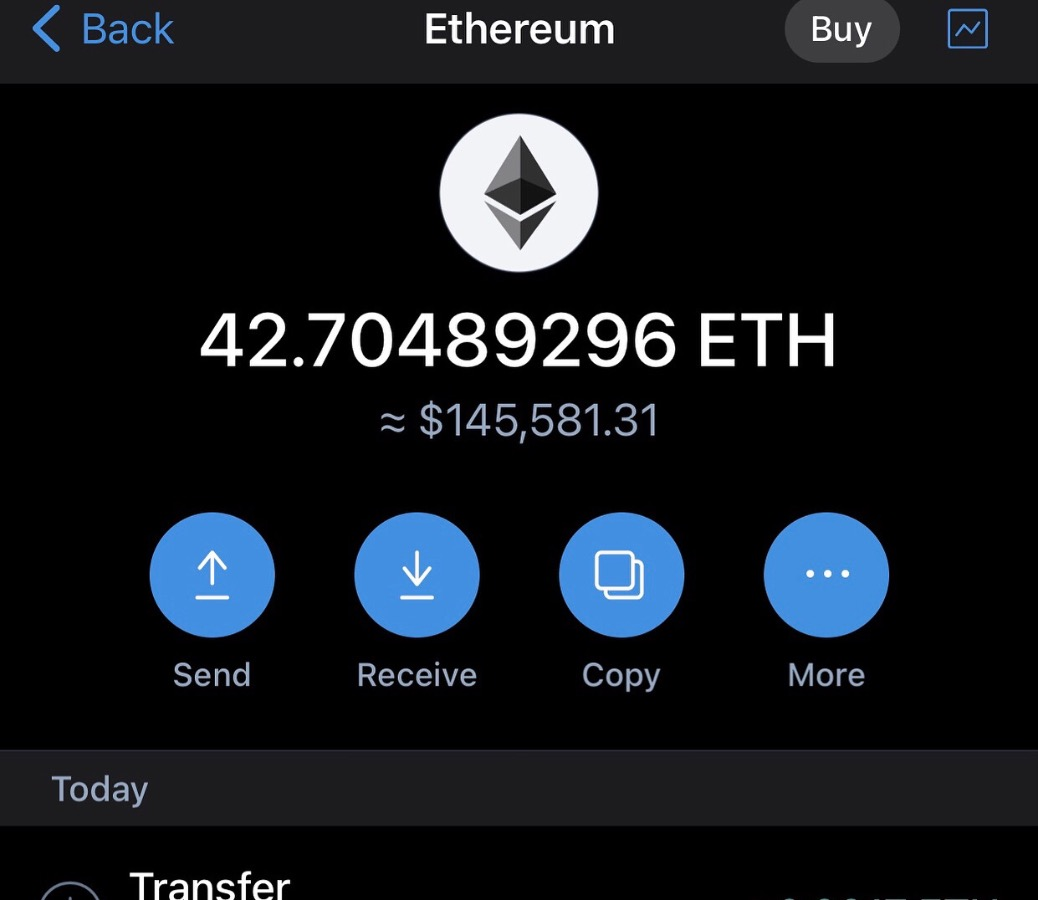 Be among Lucky winners of $1000 worth of Eth for Free