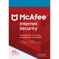 McAfee Internet Security - 1-Year / 3-Device