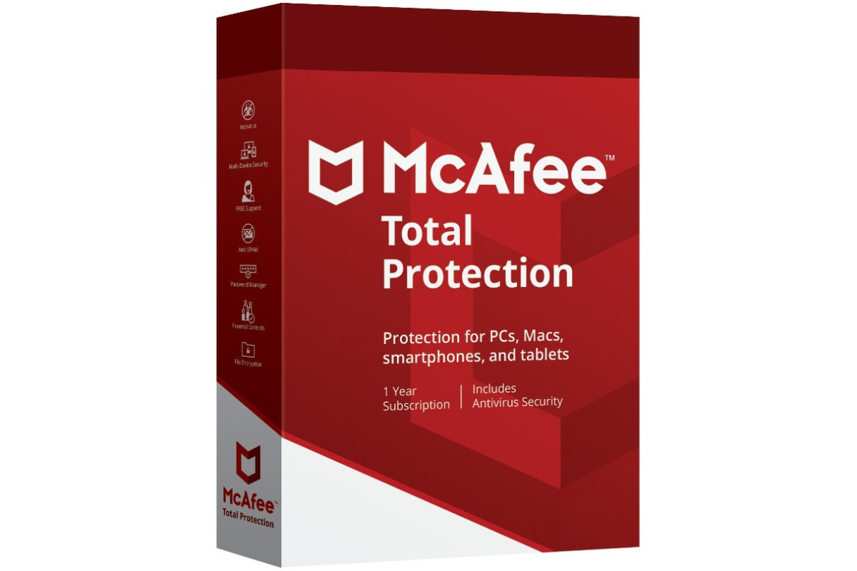McAfee Total Protection | 3 Devices | 1 Year | Key