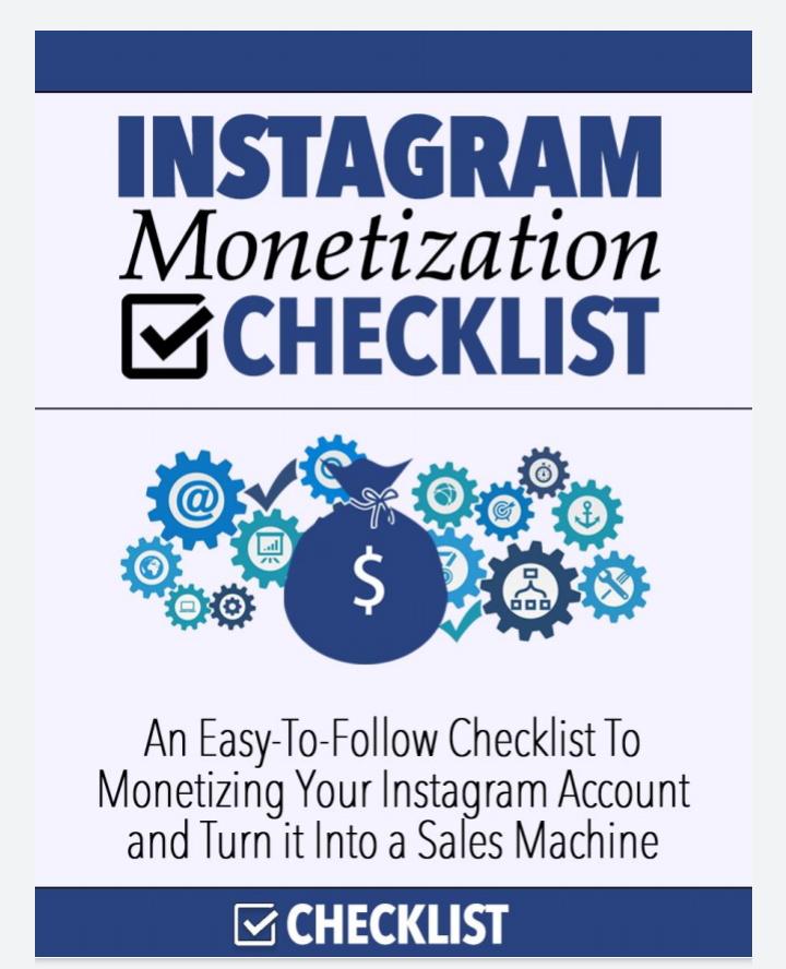 Live the Social life: Make money with your Instagram