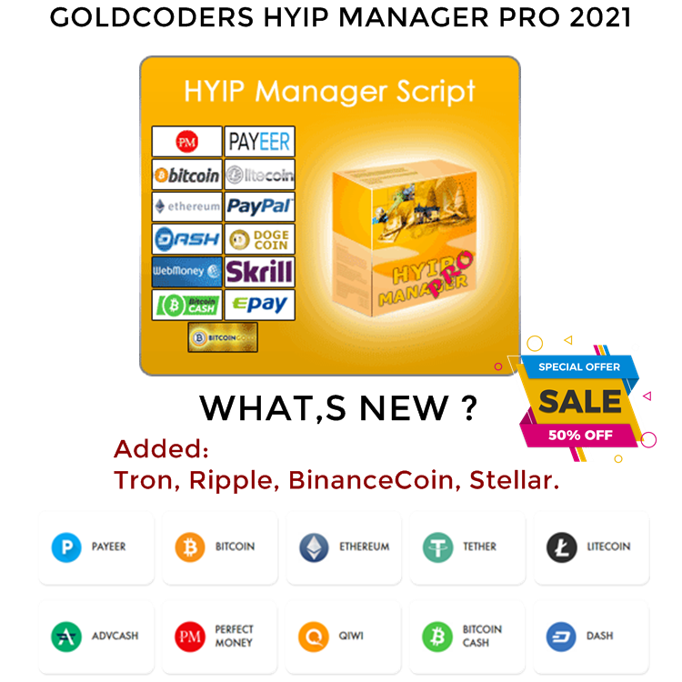 Gc Hyip Manager Pro 2021 Nulled