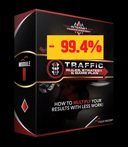 [99% DISCOUNT] Internet Traffic Mastery Course✔️