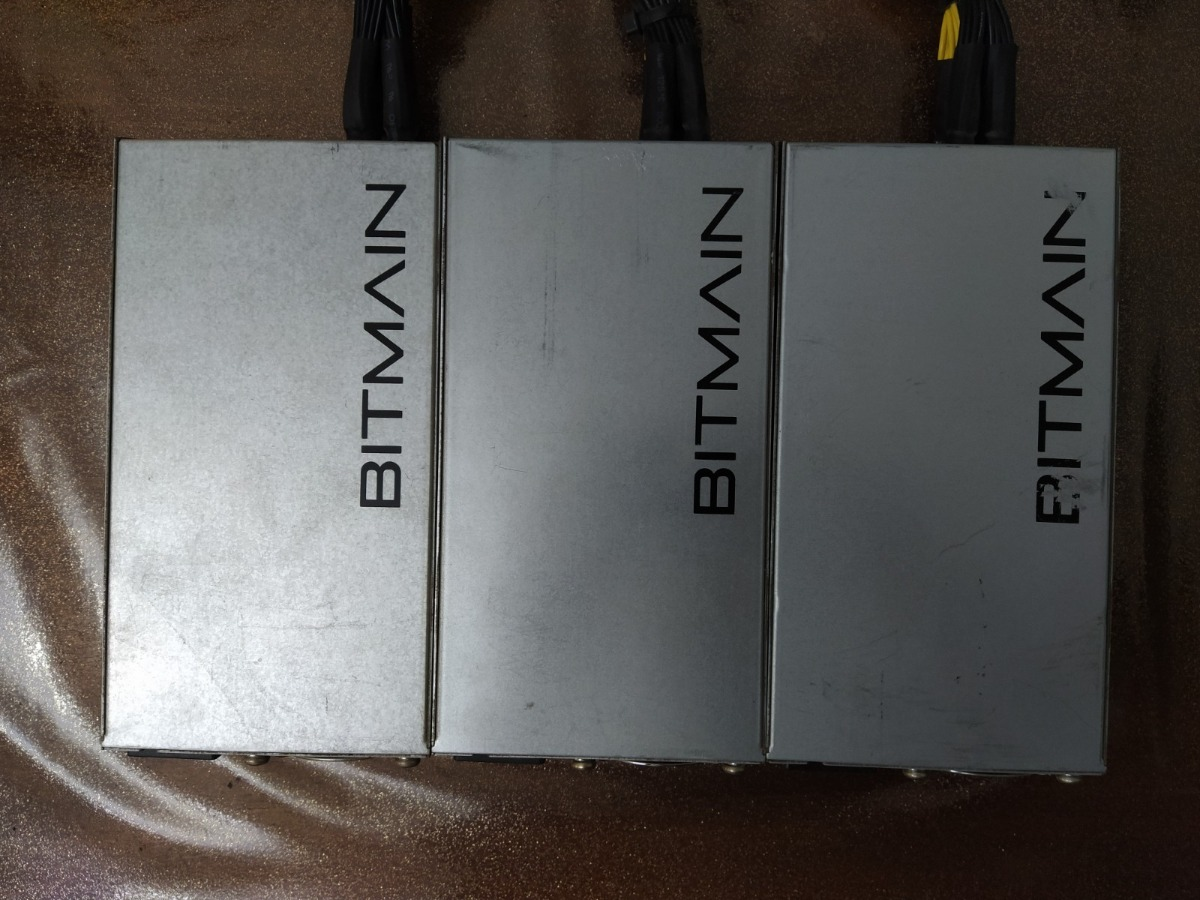 lot of 3 Antminer Power Supply APW3++ for S9 or L3+ or