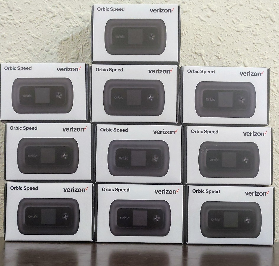 10 x Orbic Speed Mobile WiFi Hotspot [Easy Resell Item]
