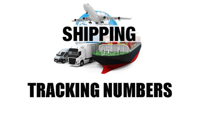 6 x Tracking Numbers Fedex and USPS For USA, UK and CA